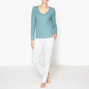 Bedrukte pyjama La Redoute Collections
