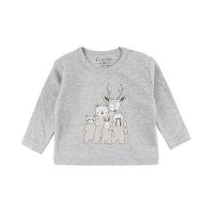 FIXONI Le T-shirt à manches longues Animaux top bébé vêtements bébé FIXONI