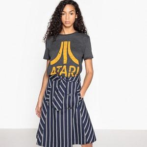 Bedrukt T-shirt met ronde hals en korte mouwen ATARI