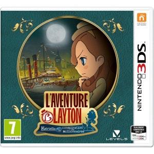 L'aventure Layton : Katrielle et la Conspiration des Millionnaires 3DS NINTENDO