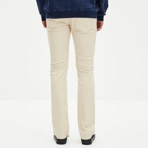 Pantalon coupe slim en coton stretch GODOBY CELIO