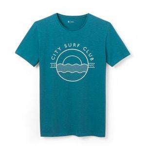 Bedrukt T-shirt met ronde hals R édition