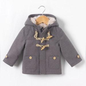 Duffle-coat doublé fausse fourrure 1 mois-3 ans La Redoute Collections