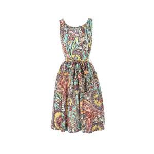 Bedrukte jurk zonder mouwen RENE DERHY