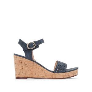 Sandales talon compensé Gessie ESPRIT