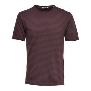 Bawełniany T-shirt z okrągłym dekoltem ONLY & SONS
