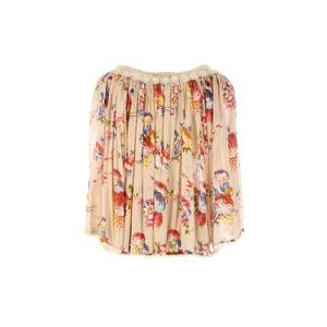 Blusa de manga 3/4 con estampado de flores RENE DERHY