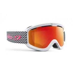 Masque de ski pour femme JULBO Blanc JUNE Blanc / Noir Tweed M Spectron 3 JULBO