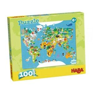 Puzzle Carte du monde HABA
