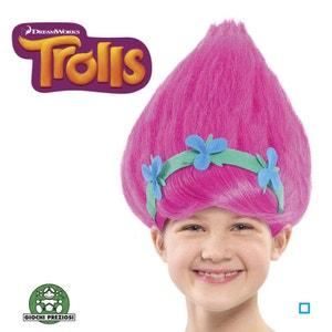 Trolls - Perruque Poppy - GIOTRL11 GIOCHI PREZIOSI