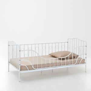Sofá cama de metal con barrera desmontable y somier Aela La Redoute Interieurs