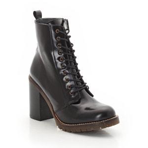 Boots alti in pelle JONAK
