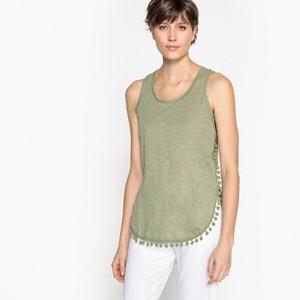 Effen T-shirt met ronde hals zonder mouwen KAPORAL 5