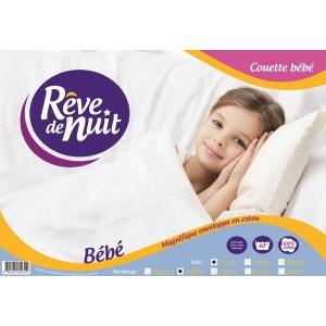 Couette Bébé Enveloppe 100% Coton 75x120 300g RÊVE DE NUIT
