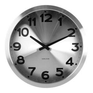 Horloge horloge murale design la redoute for Horloge murale contemporaine design