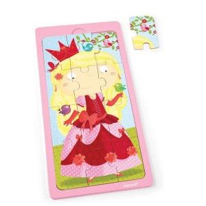 Puzzle en bois : Princesse Jessica - 12 pièces JANOD