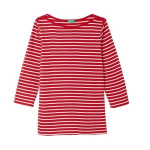 T-shirt, dekolt w łódkę, długi rękaw BENETTON