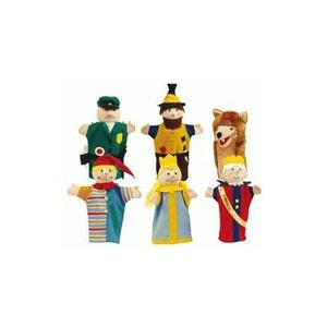 Roba 9712 Jeu de marionnettes gaine (6 pièces) ROBA