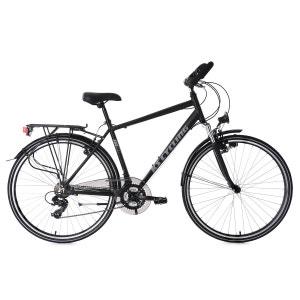 VTC homme 28'' aluminium Metropolis noir guidon multiposition TC 56 cm KS Cycling KS