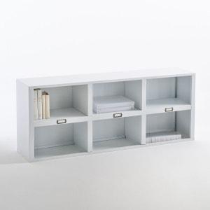 Sur-meuble, étagère 6 niches, blanc mat, Hiba La Redoute Interieurs