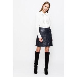 jupe courte imitation cuir salomé SINEQUANONE