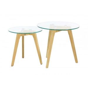 Table gigogne verre la redoute - Table gigogne la redoute ...