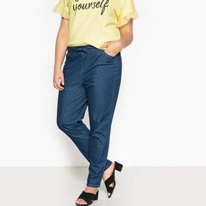 Boyfit jeans in tricot CASTALUNA