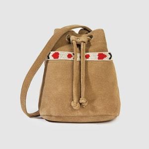 Le sac bourse, cuir, Hachi PETITE MENDIGOTE