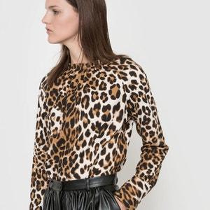 Blouse imprimé léopard Isabelle Thomas x La Redoute
