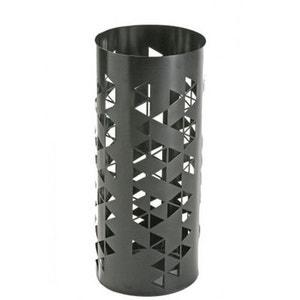 Porte Parapluies Design en Métal Triangles Noir WADIGA