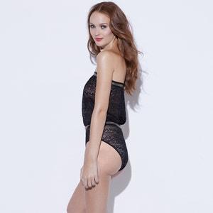 French Lace Bustier Bodysuit Sophie Malagola x La Redoute