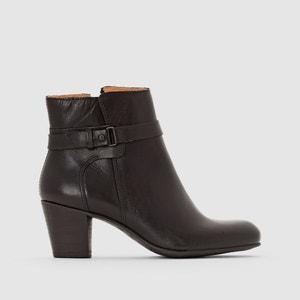 Boots in leer met hak en bandje SEEBOOTS KICKERS