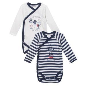 Lote de bodies para bebé em algodão ABSORBA