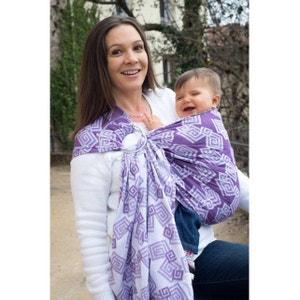 Bulline Jacquard Labyrinthe violet NEOBULLE ring sling NEOBULLE