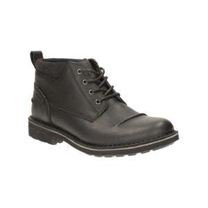 Boots in leer Lawes Top CLARKS