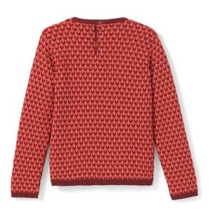 Pull con scollo rotondo in maglia sottile La Redoute Collections