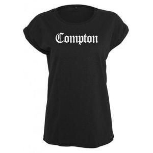 T-shirt Compton Femme x Mister Tee Noir NWA MISTER TEE