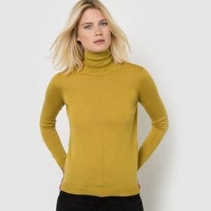 Pull dolcevita, pura lana Mérinos La Redoute Collections
