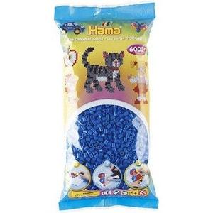 Sachet de 6000 perles Hama Midi : Bleu foncé HAMA