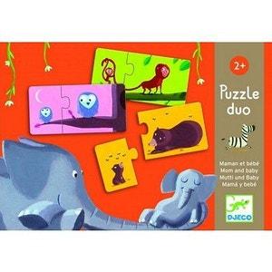 Puzzle Duo Maman et Bébé - DJEDJ08157 DJECO