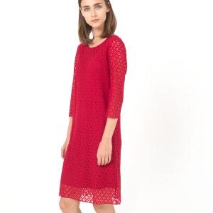 Kleid aus Spitze, A-Linie MINI PREISE