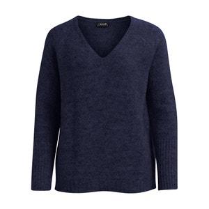 Pullover mit V-Ausschnitt, Feinstrick VILA