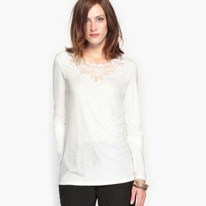 T-shirt guipure, morbidezza e comfort ANNE WEYBURN