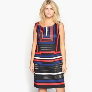 robe droite en maille imprimée CASTALUNA