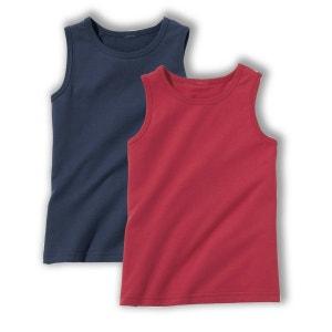 Effen hemdje (set van 2) La Redoute Collections