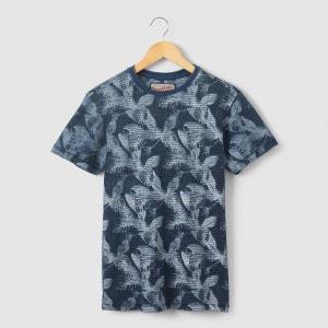 T-shirt imprimé feuilles 6 - 16 ans PETROL INDUSTRIES