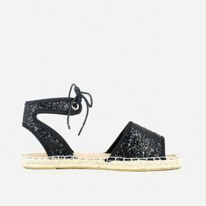 Espadrille Style Flat Sandals JONAK