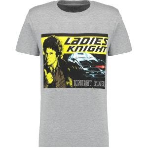 T-Shirt Knight Rider Manche Courte BLUE INC