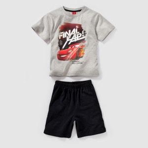 Pijama curto, jersey, CARROS, 2-12 anos CARS