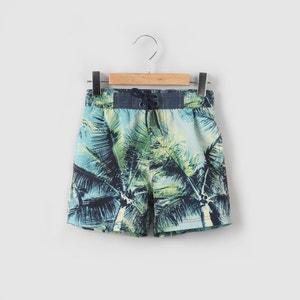 Shorts da bagno fantasia foglie 3-12 anni abcd'R
